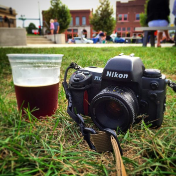 F100 35mm film camera